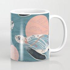 Sea Turtle Polka Mug