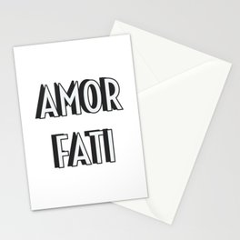 AMOR FATI Stationery Cards
