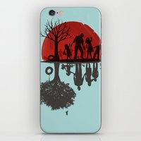 family iPhone & iPod Skins featuring A Family Once by Jay Fleck