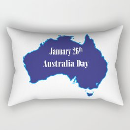 January 26th Australia Day Rectangular Pillow