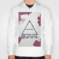 30 seconds to mars Hoodies featuring 30 Seconds of Mars Watercolor by sky0323