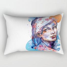 Sophia by carographic Rectangular Pillow