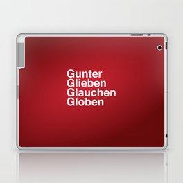 Gunter Glieben Glauchen Globen Laptop & iPad Skin