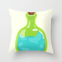 Save the planet II. Throw Pillow