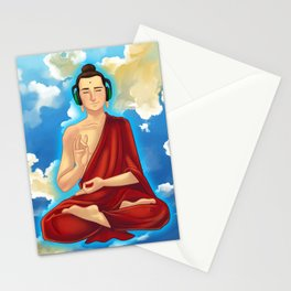 Adeptu Buddah Stationery Cards