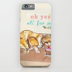 Illustration Friday- Dessert iPhone 6s Slim Case