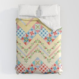 Country Days Zig Zag (printed) Comforters