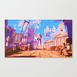Columbia - The City in the Sky Canvas Print