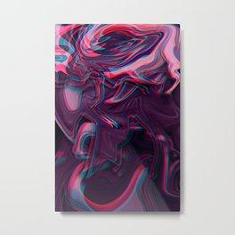 Sinking Sensation Metal Print