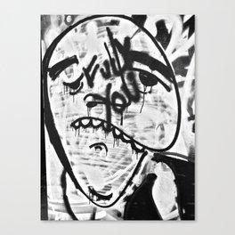 Don't Be Sad Canvas Print