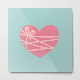 Heartstrings Metal Print