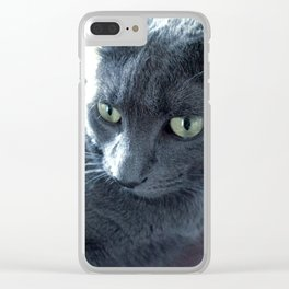 Purrr-fect Clear iPhone Case