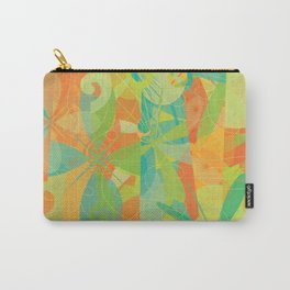 Abstract Floral Pattern - Summer Daydreams Carry-All Pouch