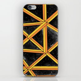 geo galaxy iPhone Skin