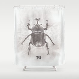 Carapace Shower Curtain