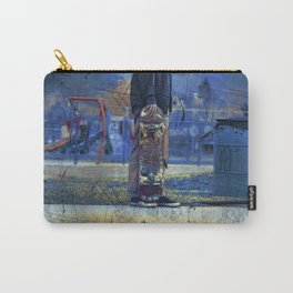 Waiting to Skate  -  Skateboarder Carry-All Pouch