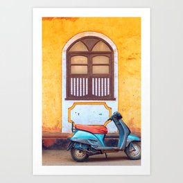 Travel photography made in India. Art Print
