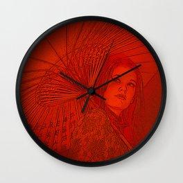 Chinagirl Wall Clock