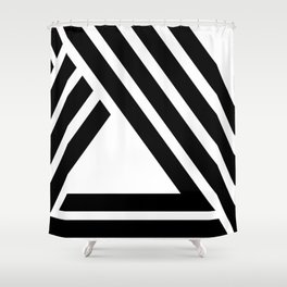 Hello IX Shower Curtain