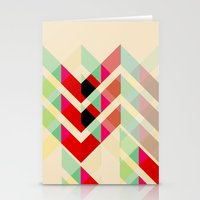 joy division Stationery Cards featuring Ian Curtis from Joy division by ░░░░░░░░░░░░
