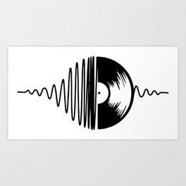 Music Vinyl Art Print