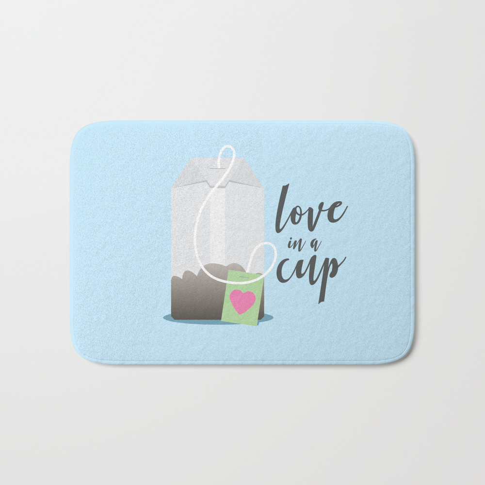 Love In A Cup Ii Bath Mat by Lnorland BMT8393652