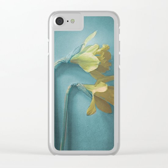 Narcisses Clear iPhone Case