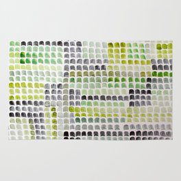 Green Dabs Rug