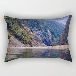 Manas River - Bhutan Rectangular Pillow