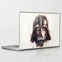 darth vader Laptop & iPad Skins featuring Darth Vader by beart24