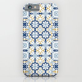 Mixed Portuguese Azulejos  iPhone Case