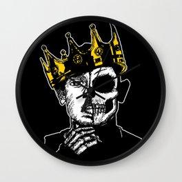 King Kendrick by zombieCraig Wall Clock