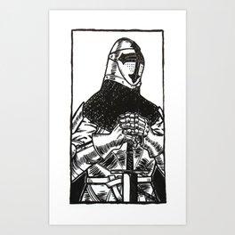 knightly Art Print