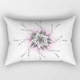 What Goes Around Rectangular Pillow