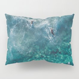 Surfing in the Ocean 2 Pillow Sham