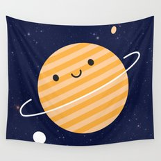 Happy Planet Wall Tapestry