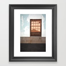 overdose de rectangles Framed Art Print