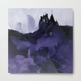 something with Eltz castle Germany Metal Print