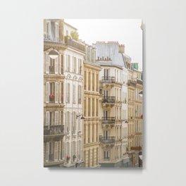 Montmartre, Paris, France Metal Print