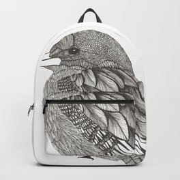 Bird kingfisher Backpack