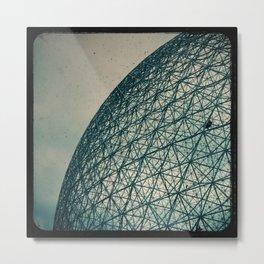 Biosphere Climbers Metal Print