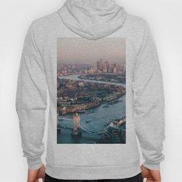 London Tower Bridge Cityscape (Color) Hoody