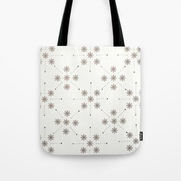 Floral Constellation (XL) Tote Bag