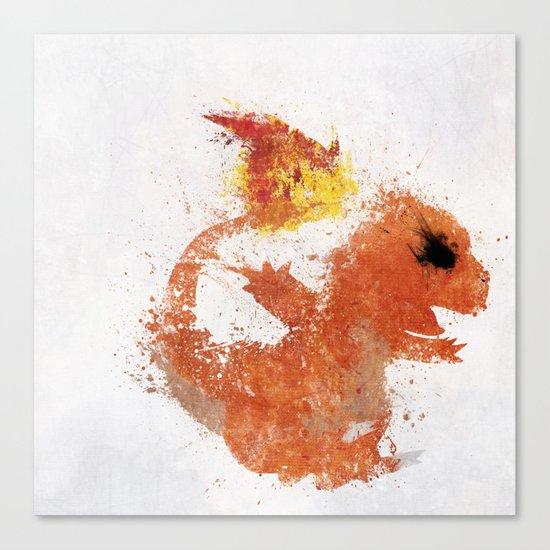 #004 Canvas Print