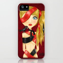 Amor y odio iPhone Case