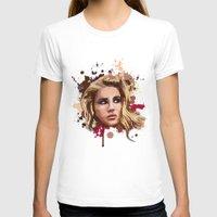 lana T-shirts featuring Lana by Devis Pederzini