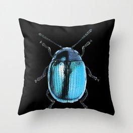 Insecte blue métal colors fashion Jacob's Paris Throw Pillow