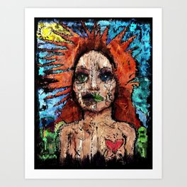From The Ashes, All My Love.  Art Print