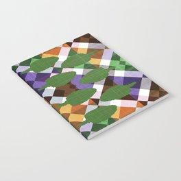 Retro Leaf Box Notebook