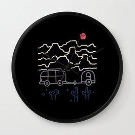 Van Desert Wall Clock